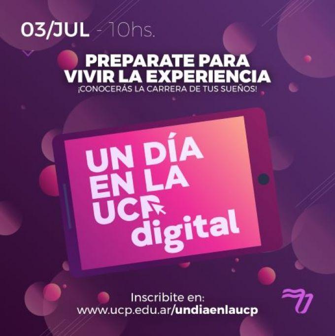 """La Universidad de la Cuenca del Plata organiza, como todos los años, """"UN DÍA EN LA UCP digital"""""""
