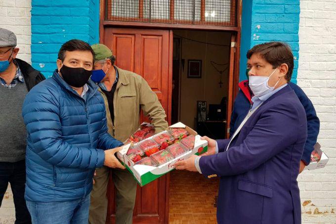Seguimos recorriendo la provincia con el Gobernador Gustavo Valdés